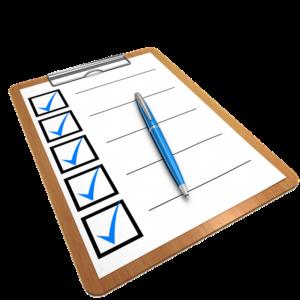 cuestionario-formulario-vector-lista