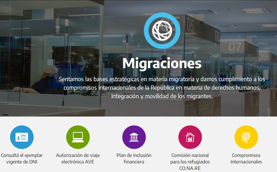 tramitar el DNI para extrangeros en Argentina