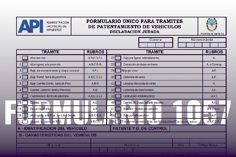 Formulario 1057