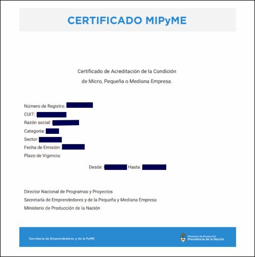 certificado-mipyme-argentina-modelo-ejemplo