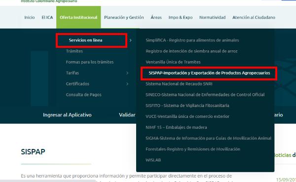 SISPAP-Importacion-y-exportacion-de-productos-agropecuarios-certificado-fitosanitario-colombia