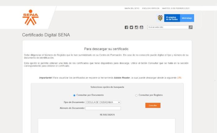 Certificado de estudios colombia tramite