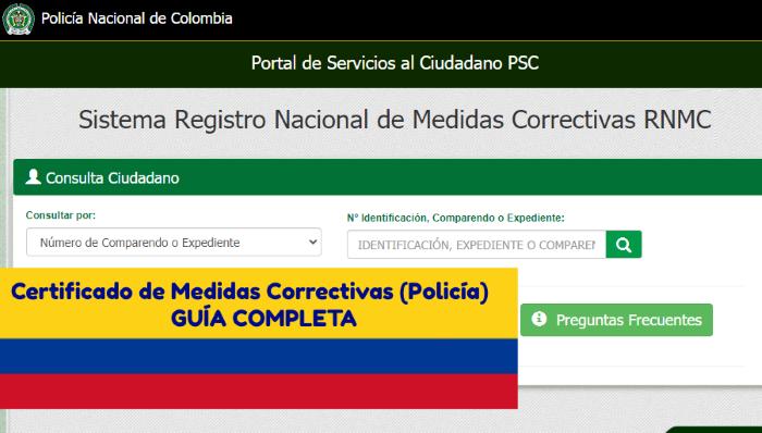 certificado-medidas-correctivas-colombia-policia-guia-tramite