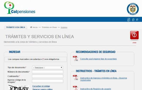 cotizar pensiones en Colombia