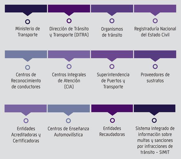 Registro Nacional de Conductores RNC COLOMBIA-TIPOS RUNT