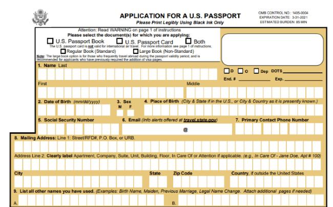 sacar la visa americana