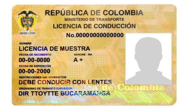 licencia-transito-colombia-carnet-conducir-colombiano