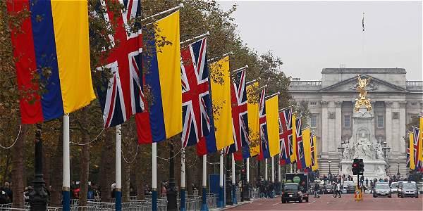 viajar a Londres desde Colombia